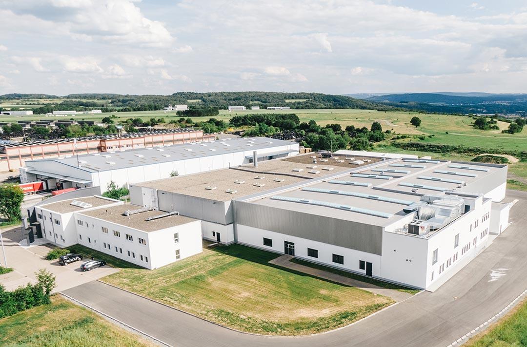 Erweiterung Lackfabrik