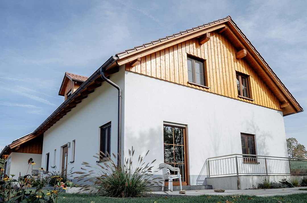 Landhaus in freier Natur
